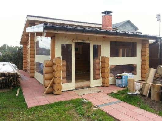 Шторы для веранд и террас кафе и ресторанов по Краснодару и