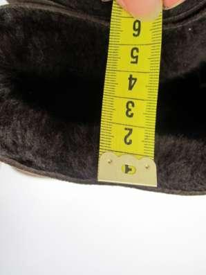Сапожки на цигейке шириной 2 см
