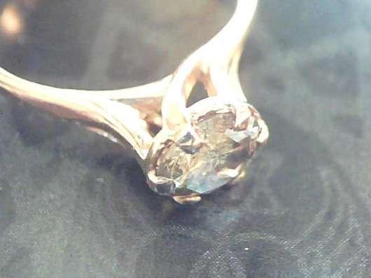 Кольцо золото 585 бриллиант 0.66 карат в Екатеринбурге Фото 6