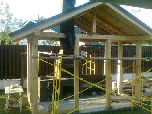 Строительство домов, беседок, заборов, крыш, терас в Воскресенске Фото 5