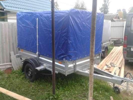 Новый прицеп, российского производства Avtos 2.3x1.5. Комплект ( Прицеп+ Тент+ Опорное колесо) в г. Витебск Фото 3