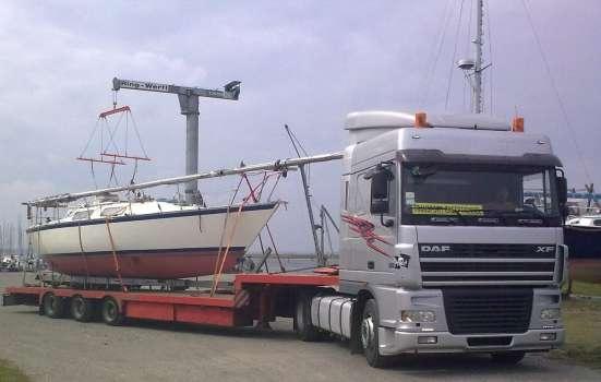 Транспортировка катеров, килевых яхт в г. Керчь Фото 3