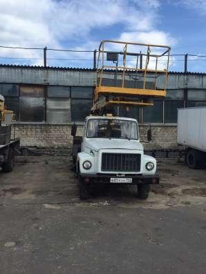 Услуги (аренда) автовышки 18,22,28,32м. Телескоп в Нижнем Новгороде Фото 1