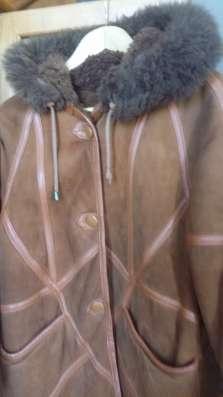 Натуральная дубленка для девочки в г. Самара Фото 2