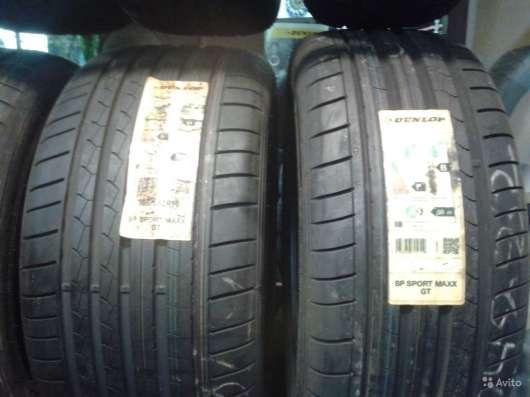 Новый комплект 285 35 и 255 40 данлоп спортмакс GT