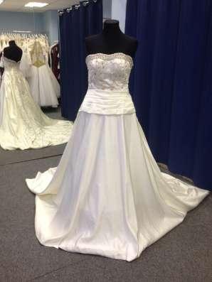 Авторское свадебное платье ручной работы в Москве Фото 1
