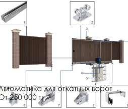 Автоматика для ворот в г. Алматы Фото 5