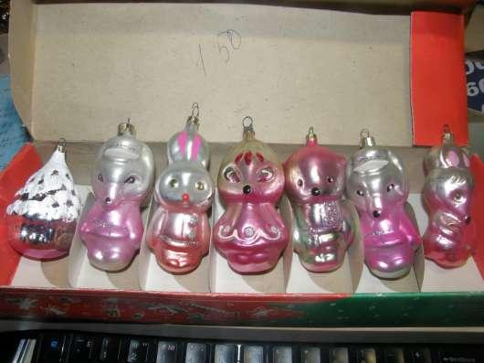 Набор ёлочных игрушек в коробке ГДР в Москве Фото 2