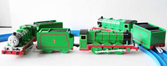 """Паровозик Генри, из м/ф: """"Томас и его друзья"""""""