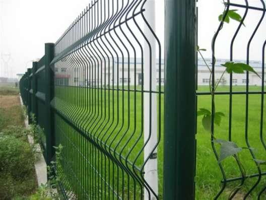 3D забор, 3Д сварная панель 2230x2500x4мм Цинк