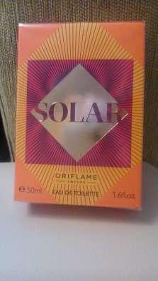 Туалетная вода от oriflame solar