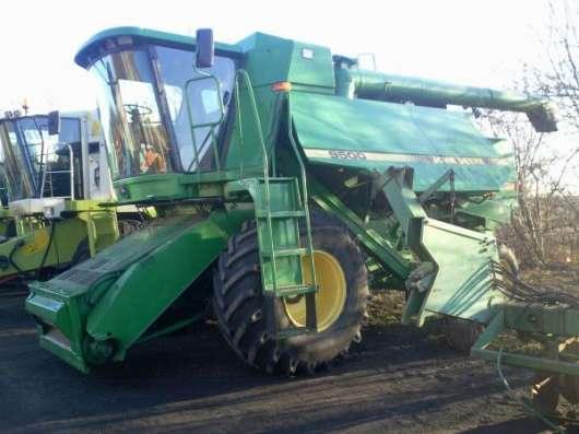 Комбайны John Deere, Lexion, CASE, трактора