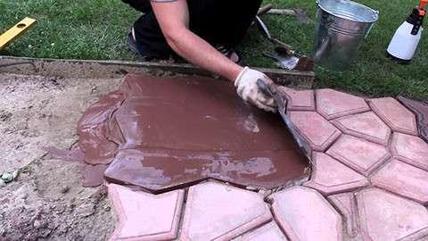 Форма для изготовления садовой дорожки в г. Киев Фото 2