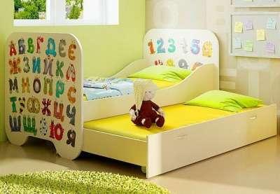 Кровать 190*80 с дополнительным спальным