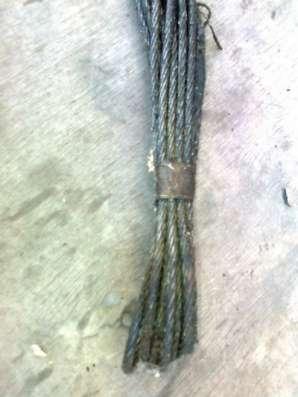стропы  канатные петлевые  Ду. = 5,2мм.