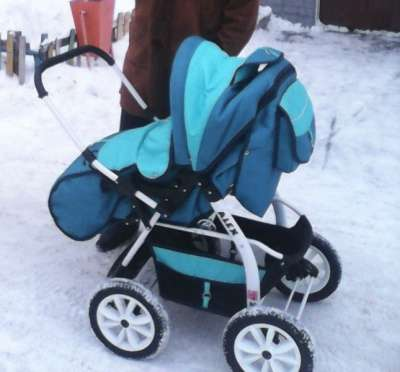 детскую коляску Alex зима-лето