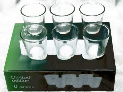 Посуда набор рюмок новые в упаковке