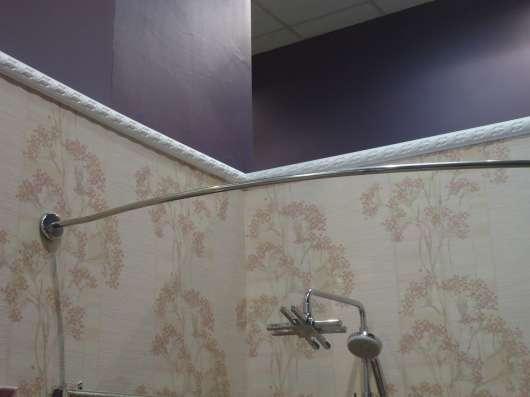 Карниз для занавески в ванную