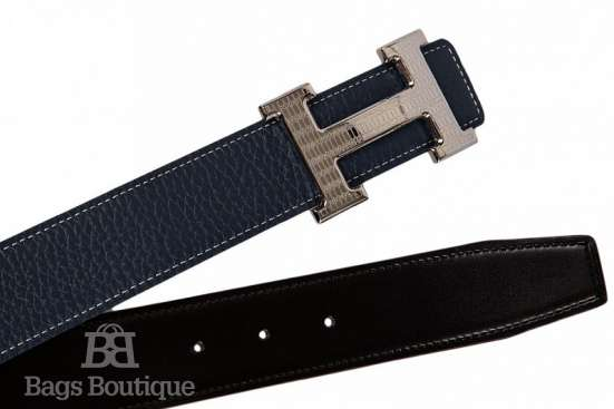 Ремень Classic H logo Leather Belt
