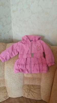 Куртка-плащ на девочку 2-3 лет в г. Кирово-Чепецк Фото 1