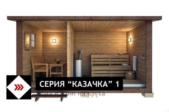 Баня ГОТОВАЯ ПЕРЕВОЗНАЯ (мобильная) «Казачка 1» в Москве Фото 2