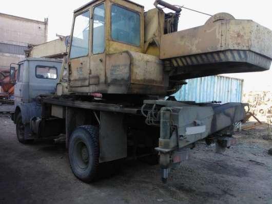 Автокран кс-35715 Ивановец 16 тонн, 18 м. в Санкт-Петербурге Фото 1