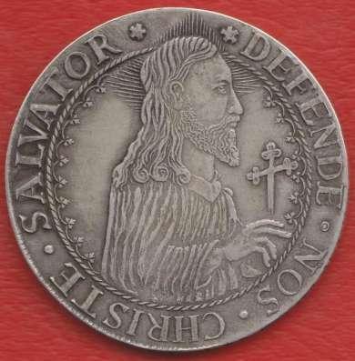Польша Данциг Осадный талер 1577 г. №2