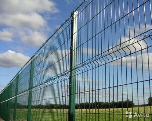 3D забор, 3Д сварная панель 1530x2500x4мм