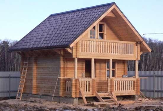 Профилированный брус, производство и строительство домов под