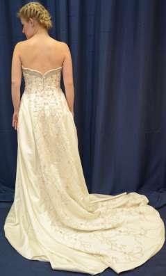 Авторское свадебное платье ручной работы в Москве Фото 3