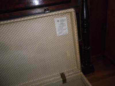 Старинный чемодан в Москве Фото 3