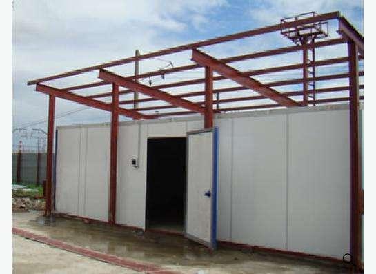 Строительство промышленных и холодильных складов в г. Самара Фото 1