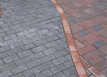 Брусчатка, Тротуарной плитки, укладка плитки
