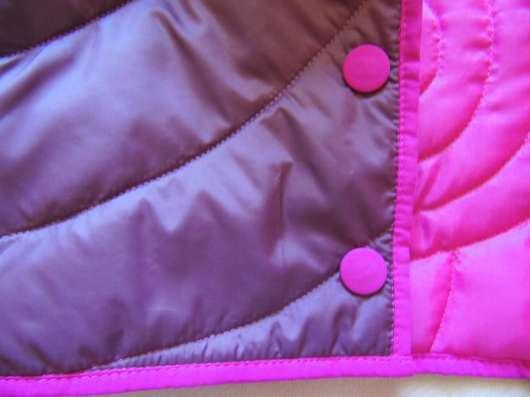 Демисезонная куртка для девочки р-р 68-74