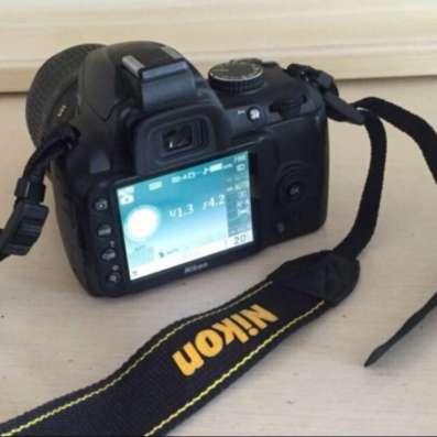 Фотоаппарат Nikon D3000 18-55 Kit Зеркальный в Москве Фото 3