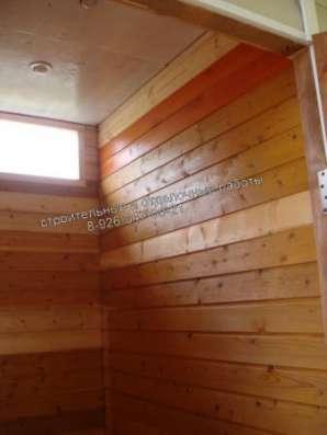 Строительство бани, веранды, туалета, душевой, беседки. Строительные работы. Отделка. в Клине Фото 5