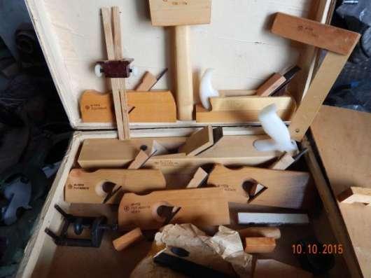 Набор столярных инструментов времен СССР
