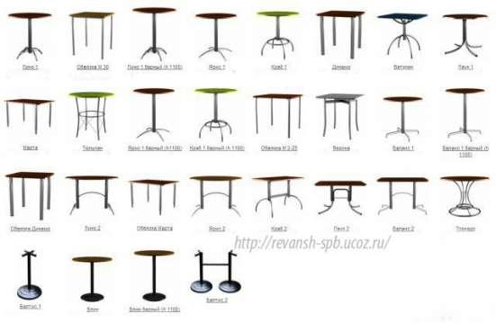 Мебель для кафе, бистро и ресторанов от производителя в Санкт-Петербурге Фото 1