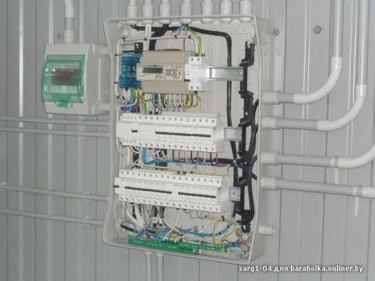 Электромонтажные работы под ключ, договор, гарантия в Гродно