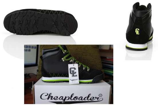 Ботинки CHEAPLOADER 44 размера, оригинал, замша - текстиль