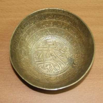 Чаши латунные с арабской вязью