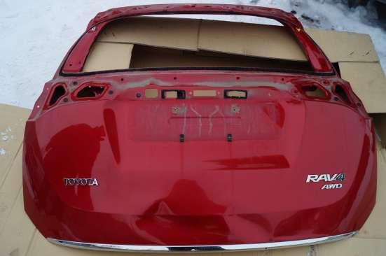 Тойота РАВ-4 2013 г. задняя крышка багажника в Магнитогорске Фото 1