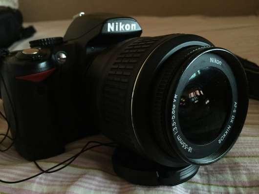 Nikon d3000 kit 18/55 vr