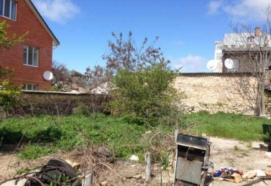 Участок 5,45 сот + 2,5 сот придомовая территория с домом под снос на ул. Матюшенко в г. Севастополь Фото 1