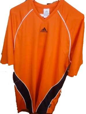 Футболка Adidas Aventis JSY SS (оранжевая)