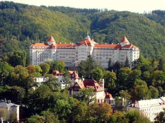 Самый известный лечебный курорт в Чехии