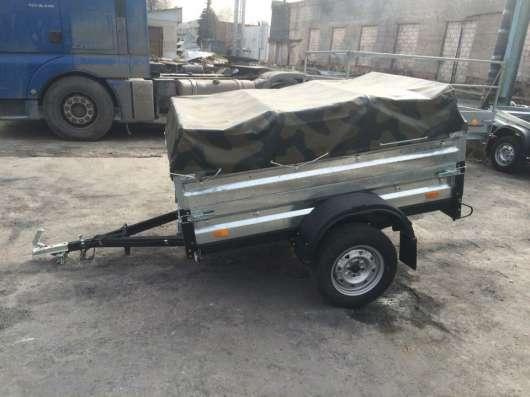 Легковой прицеп автомобильный КМЗ 20A Комуфляж в Москве Фото 3