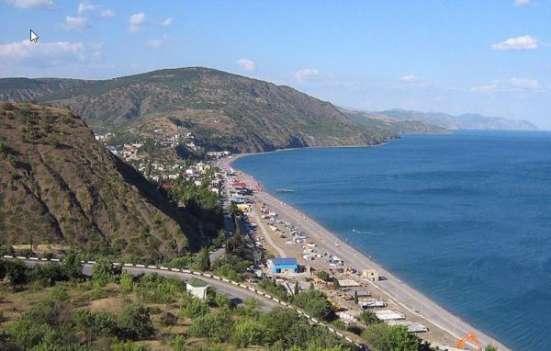Продается земельный участок в Алуштинском районе в с. Рыбачье.