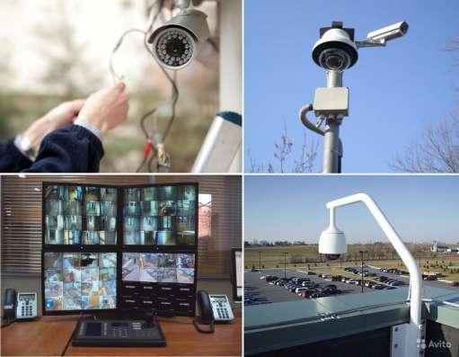 Профессиональный монтаж систем видеонаблюдения, домофонов в Москве Фото 1