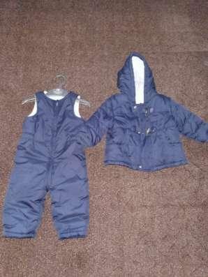 Комплект курточка и комбинезон весна-осень